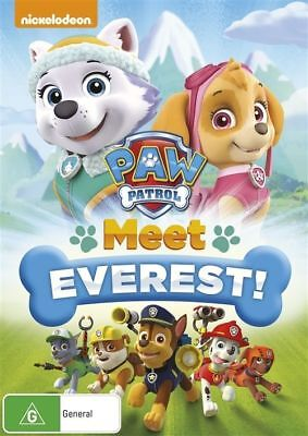 Paw Patrol: Meet Everest DVD Region 4 New Sealed