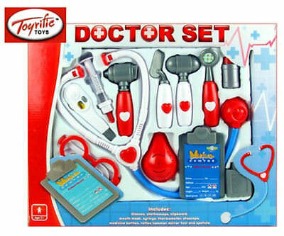 Kids Role Play Doctor Nurses Toy Medical Set Kit Brand New In Retail Box