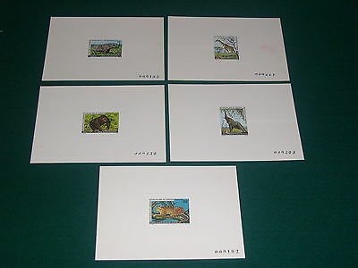 Cameroon 1979 Threatened Animals Deluxe Proofs. VF and Rare