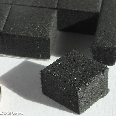 10x10x5mm self adhesive rubber feet. 5mm thick pads for appliances etc...