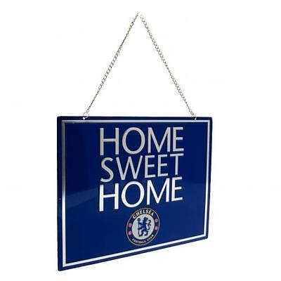 Chelsea Home Sweet Home Sign Fan Crest Gift Official Licensed Football Product