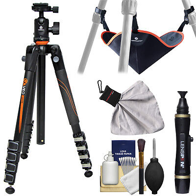 "Vanguard VEO 235AB 57"" 57 Inch Aluminum Tripod with TBH-50 Ball Head & Case Kit"