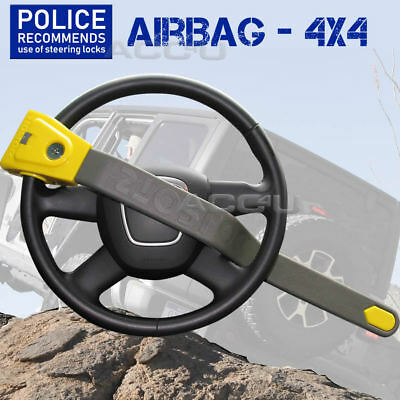 StopLock Car Van 4x4 Motorhome AIRBAG Compatible Anti Theft Steering Wheel Lock