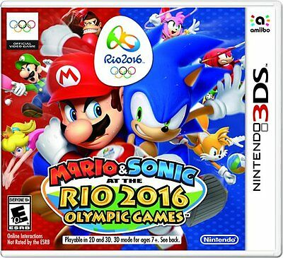 Mario & Sonic at the Rio 2016 Olympic Games ( Nintendo 3DS) NEW