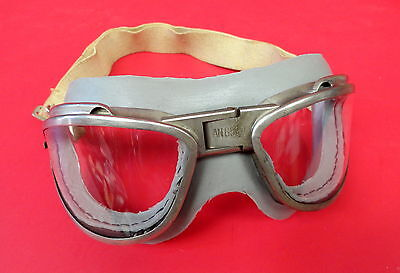Usaaf An-6530 Flying Goggles One Piece Cushion Chas. Fischer