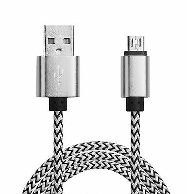 Long Micro USB Cable for HTC M9 Samsung Galaxy S5 S6 S7 Charger Data for Android