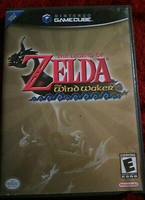 Nintendo GameCube Legend of Zelda The Wind Waker COMPLETE w/ Manual TESTED