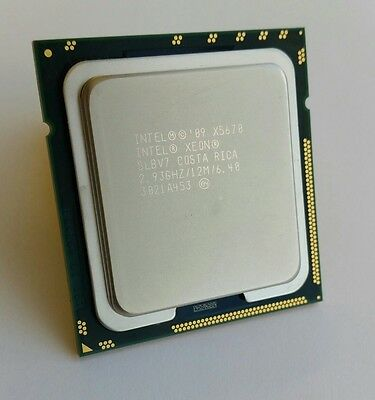 Intel Xeon X5670 SLBV7 Hex Core 2.93 GHz 12MB LGA1366 CPU Processor
