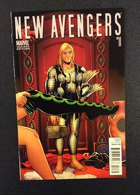NEW AVENGERS #11 Comic Book THOR Goes Hollywood VARIANT Marvel Infinity BENDIS
