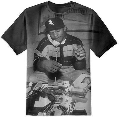Eazy E T Shirt 63 All Over Print - Nwa Straight Outta Compton Dre Ice Cube Easy