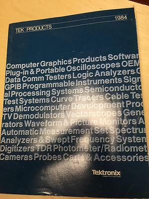 1984 Tektronix Catalog ~ Computer Graphics Products Test Equipment Instruments