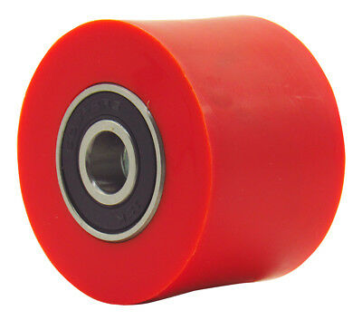 Outlaw Racing Red 42mm Bearing Chain Roller MX Motocross Dirt Bike Offroad