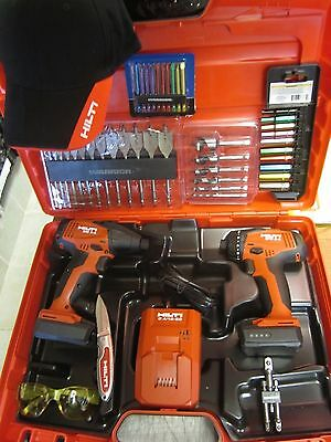 Hilti Sfd 2-A & Sid 2A Drill Complete Kit, Newest Model, Durable,