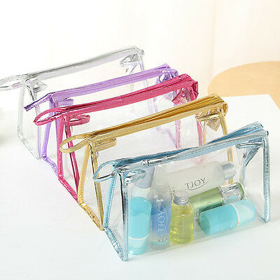 High Quality Travel Zip Bag Clear Airport Liquid Toiletries Cabin Holiday Pouch