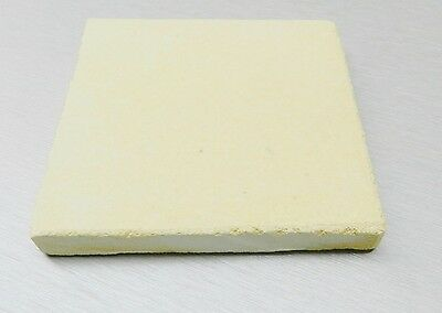 """CERAMIC BOARD HEAT PLATE JEWELRY SOLDERING MELTING 16""""x16"""" SQUARE TILE 1"""" THICK"""