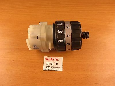 Genuine Makita Assembly for 8271D 8281D Part.nr. 125484-2