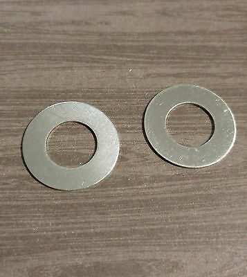 Stamping Blanks Washer 1 Inch Metal Blanks Silver Aluminum Metal Stamping