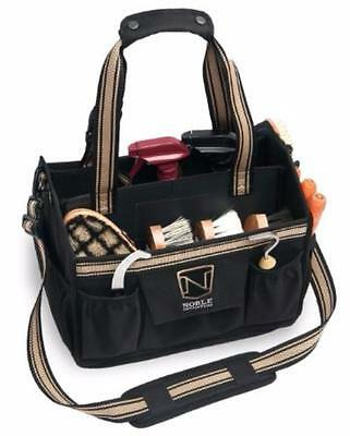 Noble Outfitters EquinEssential Horse Grooming Tote Bag Equestrian Sports, Black