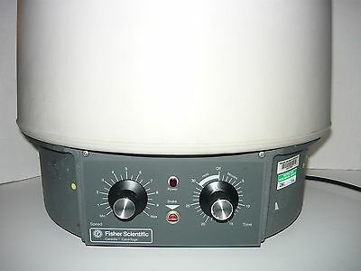 Fisher Scientific Model 225 Centrifuge, With 24  Place Tube Rotor