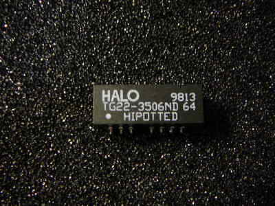HALO TG22-3506ND TELECOM TRANSFORMER 1CT:1CT/1CT:1CT 1500VRMS 0.9 Ohm  **NEW**