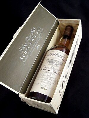 1956 BOWMORE Islay Pure Single Malt Whisky 750ml (MW2) Isle of Wine