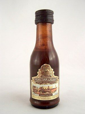 Miniature circa 1990 VENETIAN CREAM LIQUEUR Isle of Wine
