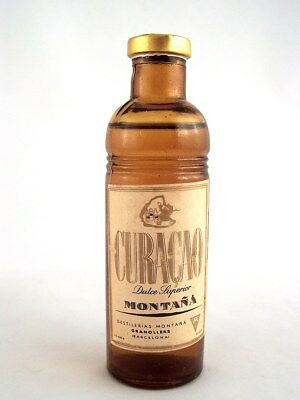 Miniature circa 1975 CURACAO by MONTANA Isle of Wine