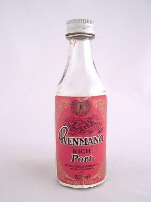 Miniature circa 1973 RENMANO RICH PORT Isle of Wine