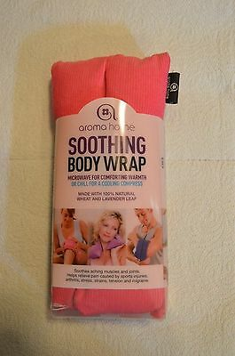 Aroma home Soothing Body Wrap Wheat and Lavender Leaf NIP