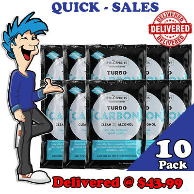 Turbo Carbon By Still Spirits x 10 Pack Promo @ $39.99 *** Delivered ***
