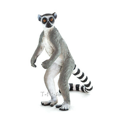 FREE SHIPPING | Mojo Fun 387177 Ringtail Lemur Wildlife Model - New in Package