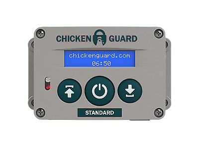 ChickenGuard Automatic Chicken Coop Door Opener AS Standard - Timer - 2 lb USA!