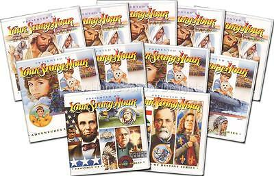 New YOUR STORY HOUR 11 Albums 132 Audio CDs Complete SET Bible History Character