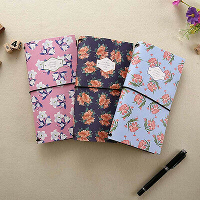 """""""Sacred Flower"""" Notebook Diary Journal Schedule Planner Travel Sketch Book Note"""
