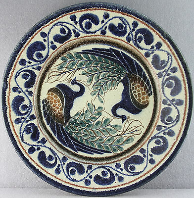 """Large 14.5"""" Vintage Wall Plate Charger Olaria Velha Porches  Pottery Portugal"""