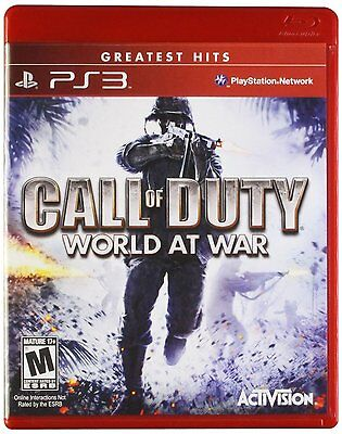 *NEW* Call of Duty: World at War (GH) - PS3