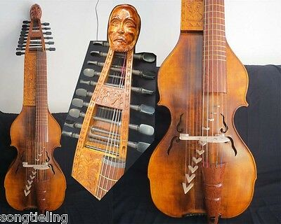 """Carved Baroque Style SONG Maestro 6x10 strings 25 1/4 """"(641mm) BARYTON"""
