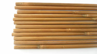 12Pcs High Quality Bamboo Shaft for DIY Bamboo Arrow Archery Longbow Recurve Bow