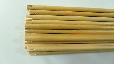 12Pc High Quality Wooden Shaft for DIY Archey Hunting Arrows 33 Inches Wood