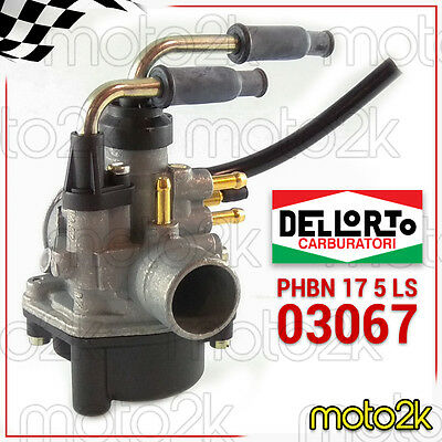 Carburatore Dell'orto Phbn 17 5 Ls Mbk Booster 50 1990 Aria Manuale - 03067