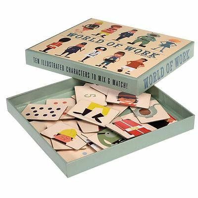 dotcomgiftshop WORLD OF WORK MIX AND MATCH GAME