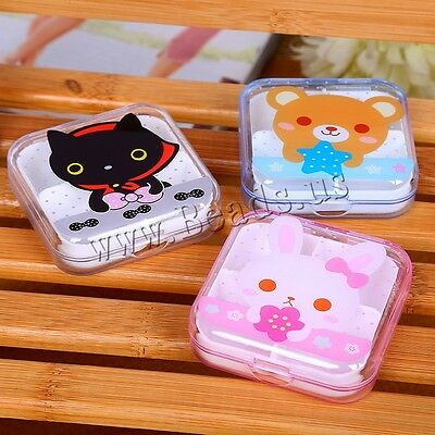 7 Day 4 Cell Tablet Medicine Cute Pill Box Storage Organizer Container Case