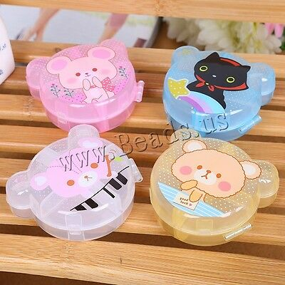 7 Day 6 Cell Tablet Medicine Cute Pill Box Storage Organizer Container Case