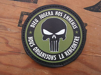 Snake patch PVC - OD - PUNISHER dieu jugera nos ennemis  SCRATCH