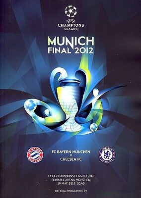 UEFA CHAMPIONS LEAGUE FINAL 2012 Bayern Munich v Chelsea