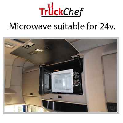 TruckChef 24v. Microwave. Rear Truck Microwave. DAF. MAN. MB. Renault. Scania.