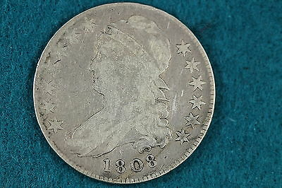 1808 Estate Find Capped Bust Half Dollar!! #D2268