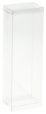 """20 DollSafe Small Doll / Action Figure Clear Display Case Boxes - 3"""" x 2"""" x 8.5"""""""
