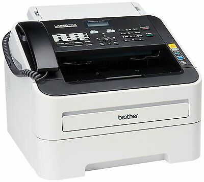 BRAND NEW Brother FAX 2840 IntelliFax-2840 FAX2840 High-Speed Laser FAX Machine