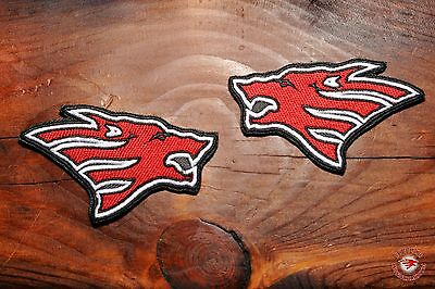 One Patch Russian Motorcyclists ( Russian Bikers )HEAD Wolf support Night Wolves